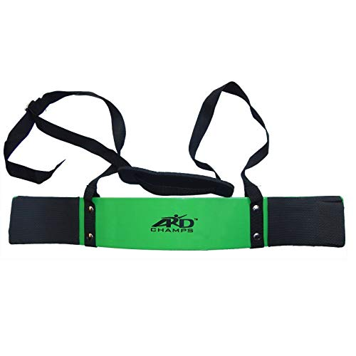 ARDChamps Heavy Duty Arm Blaster Body Building Bomber Bicep Curl Triceps Green New