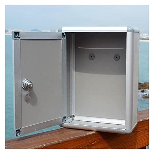 GTRHD Buzón Boutique Sugerencia Caja Boleta Comentario Caja Buzón de Correo de Seguridad para Exteriores Buzón de Bloqueo Fuerte y Robusto (Color : Style 1)