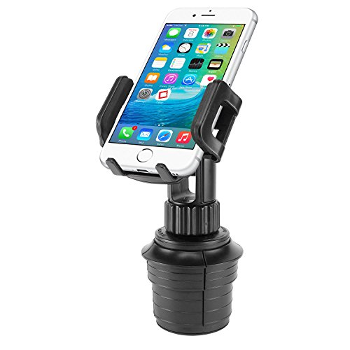 Cellet Car Cup Holder Mount, Adjustable Smart Phone Cradle for iPhone 12 Pro Max Mini 11 XR XS X Plus SE Samsung Note 20 10 + 9 Galaxy S21 S20+ Ultra S10+ A71 A51 A21 A11