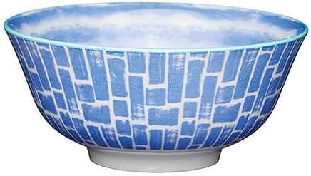 Preisvergleich für KitchenCraft Schüssel aus Steingut, glasiert, Aquarell-Blau