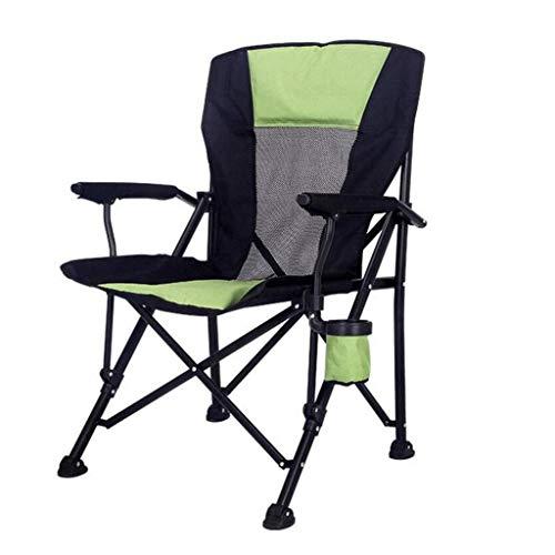Porta Outdoor Lounge Terrasse Stühle Angeln Camping-Stuhl im Freien Freizeit beweglichen Sessel mit Schale Loch Stuhl Fach verstellbare Falten Lehnstuhl