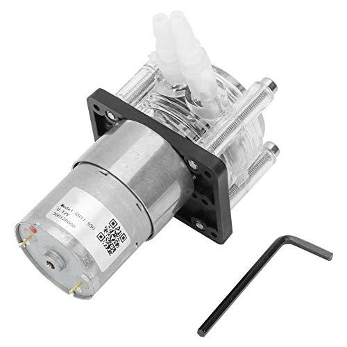 蠕動ポンプ、12V DC、流量範囲 0?400ml / min、小型、 水槽ポンプ、ウォーターポンプ