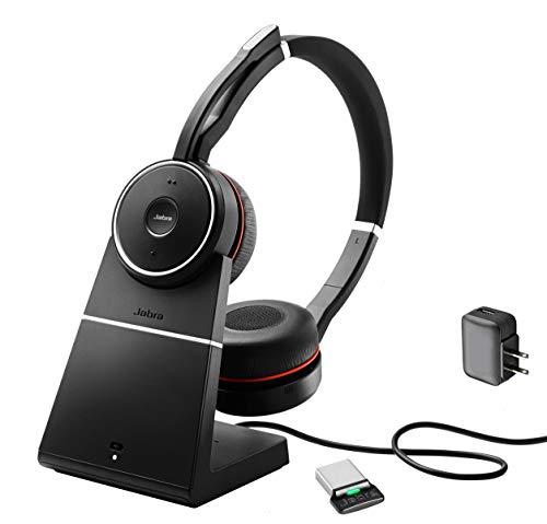 Jabra Evolve 75 Bluetooth Headset UC Bundle