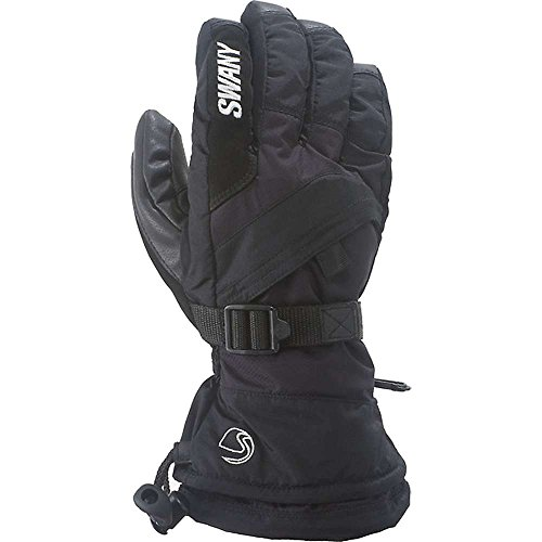 Swany X-Over-Handschuh, Herren, Schwarz, Größe M