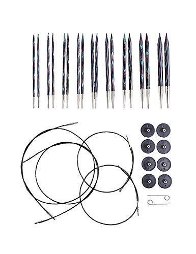 Knit Picks Options Wood Interchangeable Knitting Needle Set - US 4-11 (Majestic)