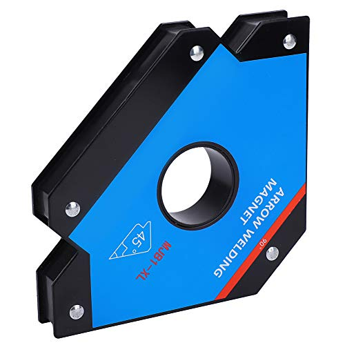 Arrow Welding Magnets, Alloy Steel 45, 90, 135 Degree Angle Magnet, Magnetic Locator Weld Positioner Accessories