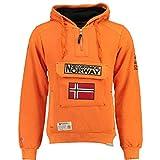 Geographical Norway Sudadera DE Hombre GYMCLASS B Naranja L