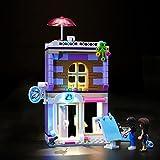 HYQX Kit de luces LED para Lego 41365 Friends Emma's Art Studio, juego de iluminación de luces compatible con Lego 41365 (juego de luces LED solamente, sin kit de lego)