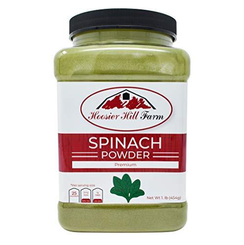 Hoosier Hill Farm Pure Spinach Powder, 1 Pound