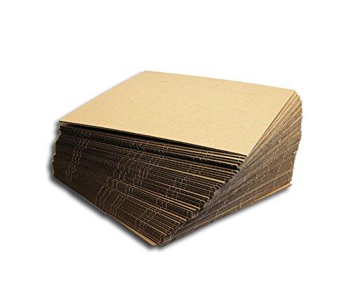 Protected LP & Single Schallplatten Versandfüllplatten (50 Stück)