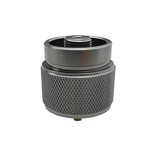 gilivableskr Convertidor de Tanque Adaptador para Estufa de Camping al Aire Libre con función de Cierre automático American Standard Manp Propane Gas Sweet