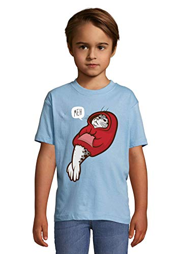 Seal of Dissaproval Hooded Seal Funny Animal Heaven Kids Colorful T-Shirt 10 Year Old (130/140cm)