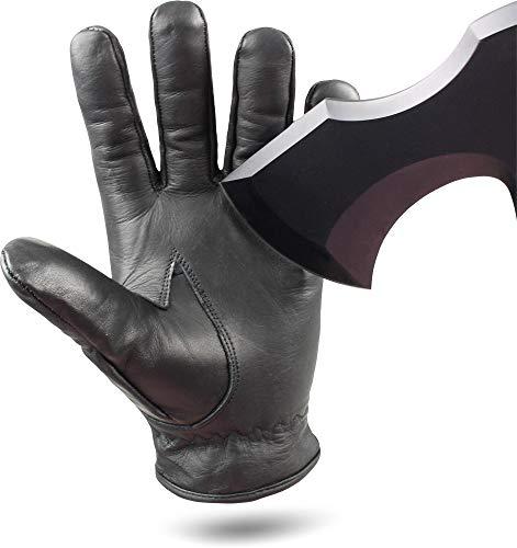 Quarzsandhandschuh mit Schnittschutz Level 5 DuPontT Kevlar® High Performance� Farbe Black Größe XL