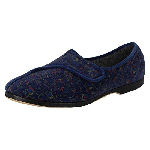 Lady Love , Sandales Compensées femme - Bleu - blueberry,