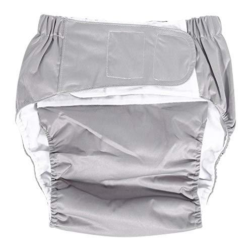 Q&M Incontinence Nappy Verstelbaar Wasbaar ondergoed Dual Opening Een maat