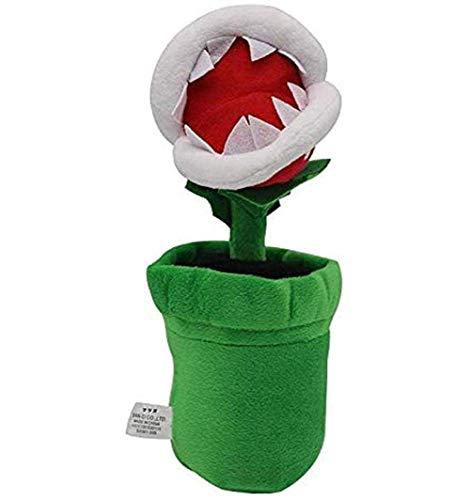 Plüsch-Spielzeug-Plüsch-Kissen-1Pcs 26cm Piranha Pflanze Plüsch Spielzeug Soft Toy Geschenke for Kinder LQH