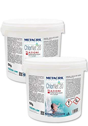 Metacril Chlor Net 20 4 acciones 10 kg (5 + 5) –...
