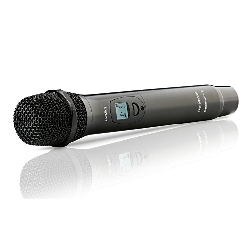 Saramonic HU9 Micrófono de Mano Digital UHF inalámbrico de 96...