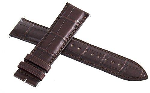 Jaeger Lecoultre mens OEM marrone in pelle Alligatore 22mm x 20mm