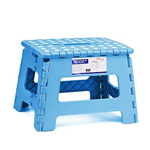 ACSTEP Acko Folding Step Stool Lightweight Plastic Step Stool