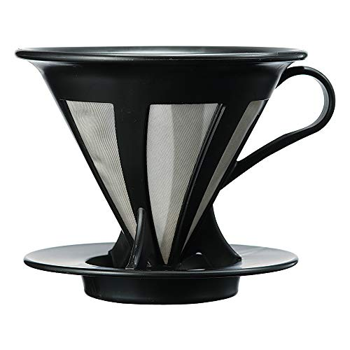HARIO ハリオ ドリッパー カフェオール コーヒー ドリップ 1~4杯用 ブラック CFOD-02B