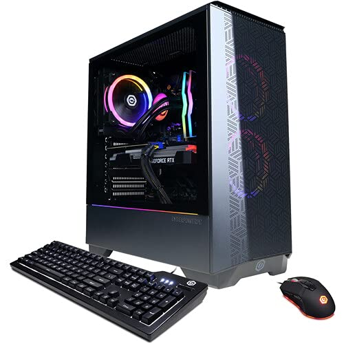 CUK Gamer Supreme SLC10820 PC (AMD Ryzen 7, 32GB DDR4 2666Mhz RAM, 512GB NVMe SSD, 2TB HDD, NVIDIA GeForce RTX 3070 8GB, Windows 10 Home) Desktop Tower Computer (Made_by_CyberPower)