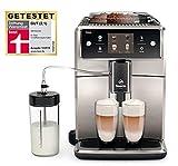 Saeco Xelsis SM7683/00 Kaffeevollautomat (1.7L, Touchscreen, Scheibenmahlwerk aus Keramik, 15...