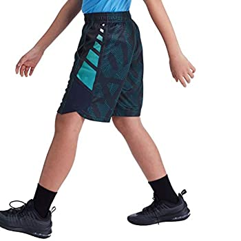 C9 Champion Boys  Basketball Shorts-8  Inseam Positive Negative Stripe Navy L