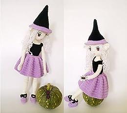 081 Crochet Pattern - Charming Witch - Amigurumi PDF file by ... | 231x260