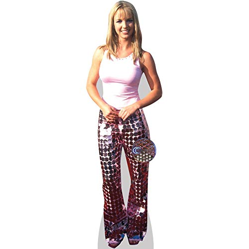 Celebrity Cutouts Britney Spears (Pink Outfit) Pappaufsteller Mini