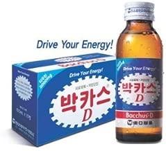 Bacchus-D Energy Drink 3.3 fl oz 10-pack