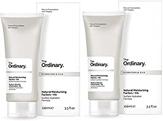 The Ordinary Natural Moisturizing Factors + HA Surface Hydration 100ml (Pack of 2)