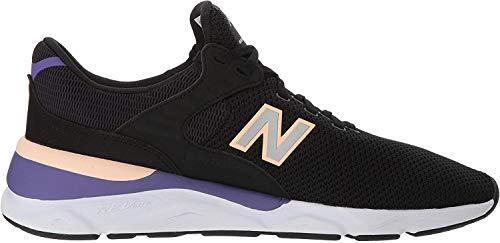 New Balance Herren X-90 Sneaker, Schwarz (Black/Prairie Sunset Crb), 44 EU