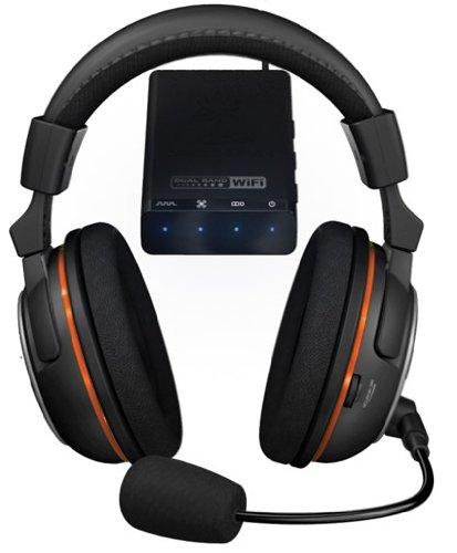 Turtle Beach Earforce X-Ray - Auriculares de diadema cerrados inalámbricos (con micrófono, 3.5 mm, 120 dB), negro