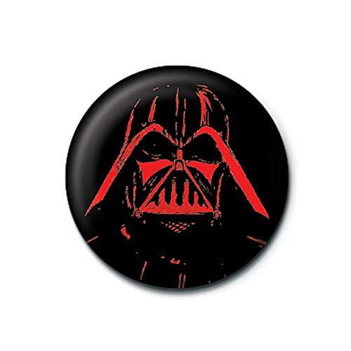 Pritties Accessories Echte Star Wars Darth Vader Sketch Taste Abzeichen Stift Retro Lucasfilm