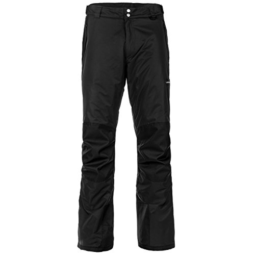 Lucky Bums 156BKS Snow Adult Pants, Small, Black