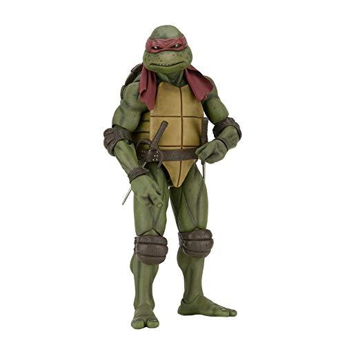 JGUSVYT Figuras de Acción de Tortugas Ninja Mutantes Adolescentes, Armas Ninja para Niños, Figura de Juguete Coleccionable de Donatello 1990 Figura de Acción Adecuada para Regalos (5.9 Pulgadas)