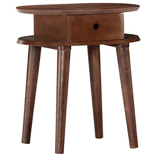 FAMIROSA Nachttisch 50 x 35 x 55 cm Massivholz Akazie