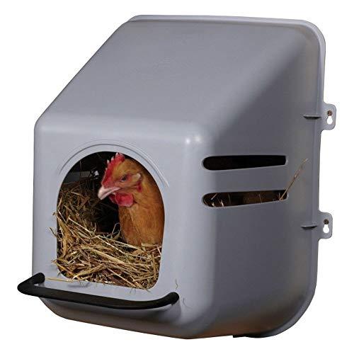 Hühnernest Kunststoff Legenest Abrollnest Eierbox Geflügel Hühner Wand Nest