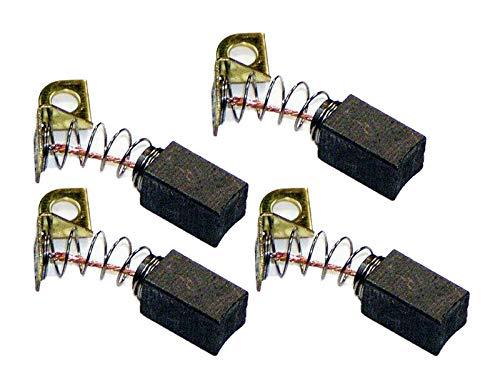 4-Pack Motor Brushes for Porter Cable 7800 Drywall Sander - N119739 / 879058
