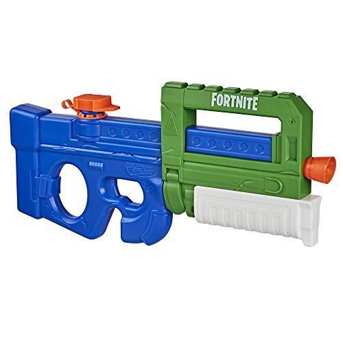 Nerf Super Soaker Fortnite Compact SMG Wasserblaster - Pump-Action Wasser-Attacke - Für Kinder, Jugendliche und Erwachsene