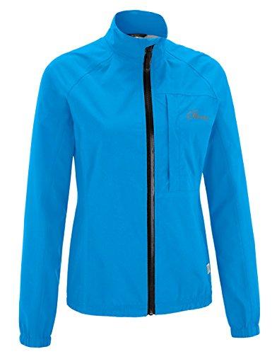 Gonso Damen Agave Da-Allwetter-Jacke, Brilliant Blue, 40