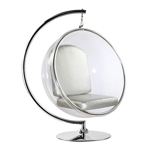 Aron Living Clear White Bubble Chair