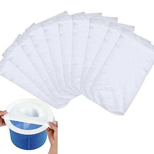 Chaussettes de Skimmer de Piscine,Pool Skimmer Net,Skimmer pour Piscine Hors Sol,Pool Skimmer,Filtres en Tissu de Nylon,Piscine Filtres en Tissu,Skimmer pour Piscine