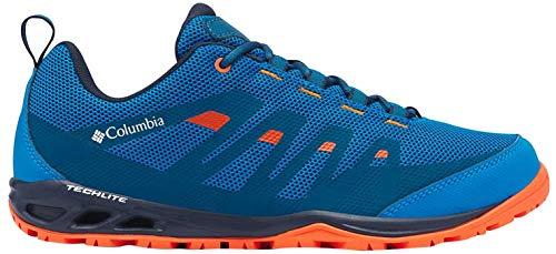 Columbia Vapor Vent, Zapatos Hombre, Blue (Pool, Red Quartz 421), 42 EU