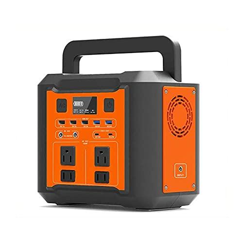 QCLU Centrale elettrica Portatile 296Wh / 80000Mah Generatore, Batteria al Litio di Backup con DC/AC/USB Porti/Tipo. -C/LED. Leggero PORTATO Display per all'aperto Picnic Pesca Drone Drone Par