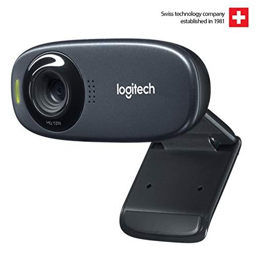 Logitech C310 5MP 1280 x 720Pixel USB 2.0 Schwarz Webcam - Webcams (5 MP, 1280 x 720 Pixel, 640x480@30fps, 360p,480p,720p, 5 MP, 60°)