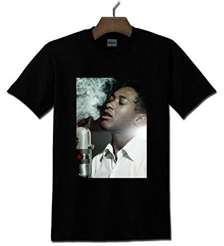 Res Sam Cooke American Singer Songwriter Black T S T Shirt Size/Größe S-5Xl