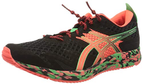 Asics Gel-Noosa Tri 12, Running Shoe Mens, Black/Flash Coral