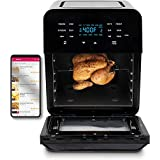 Air Fryer Best Seller with Accessories and Cookbook, Large NuWave BRIO Countertop Oven and Grill, Includes Rotisserie Rack and Basket, 15.5-Quart